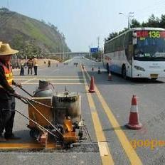 巴南北碚龟龄北京江津綦江道路热熔标线打夯队 画车位线公司