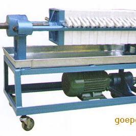 手动(千斤顶)压紧型板框压滤机