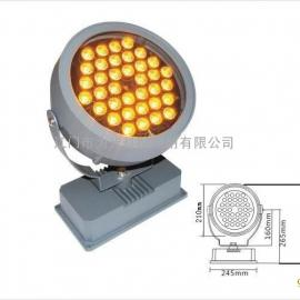 36W金黄色欧司朗LED大功率投光灯