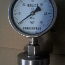 隔膜压力表型号全价格低