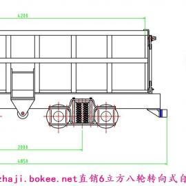防掉道型侧卸式式矿车
