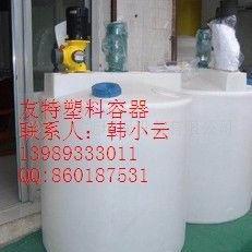 水处理配套2吨加药装置批发,蚌埠2立方加药箱配搅拌器