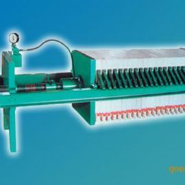 BS/J0.1-6/420手动(千斤顶)压紧型板框压滤机