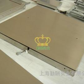 不锈钢双层电子地磅3吨电子地磅秤