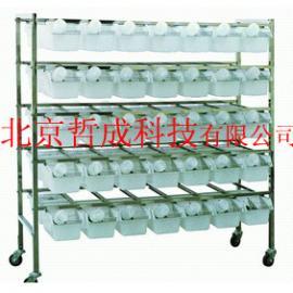 小鼠笼架、不锈钢双面小鼠笼架、动物房用笼架