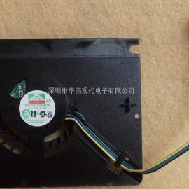 显卡风扇MGT6012YF-W15 四线温控鼓风机
