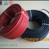 低烟无卤阻燃辐照交联聚烯烃料光伏电缆