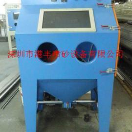 螺丝机米自动喷砂机 小型铝件铸件自动喷砂机