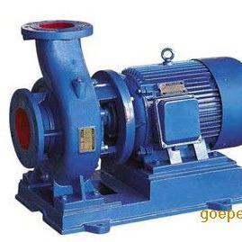 ISW卧式管道离心泵ISW80-160卧式循环泵离心水泵管道增压泵
