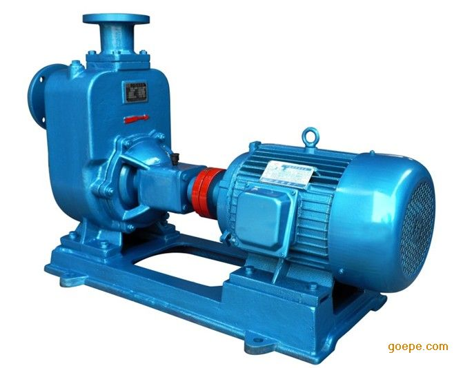 上海瑶泉供应ZW50-15-30,3KW无堵塞自吸排污泵/自吸污水泵