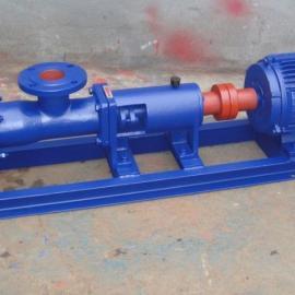 上海瑶泉供应G30-1轴不锈钢螺杆泵,单螺杆泵