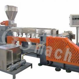 双螺杆造粒机 PP ABS回收塑料造粒机 废旧玻纤造粒机