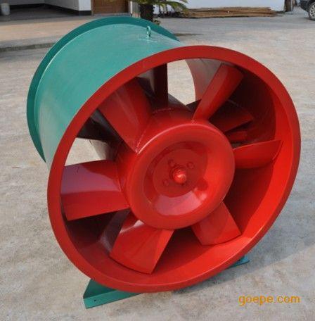HTF(A)-I-15型轴流式单速消防高温排烟风机3C认证