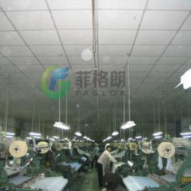 广东专业生产纺织厂造纸厂喷雾加湿除尘设备