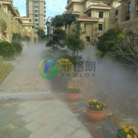 别墅花园小区休闲娱乐场所人造雾喷雾降温设备