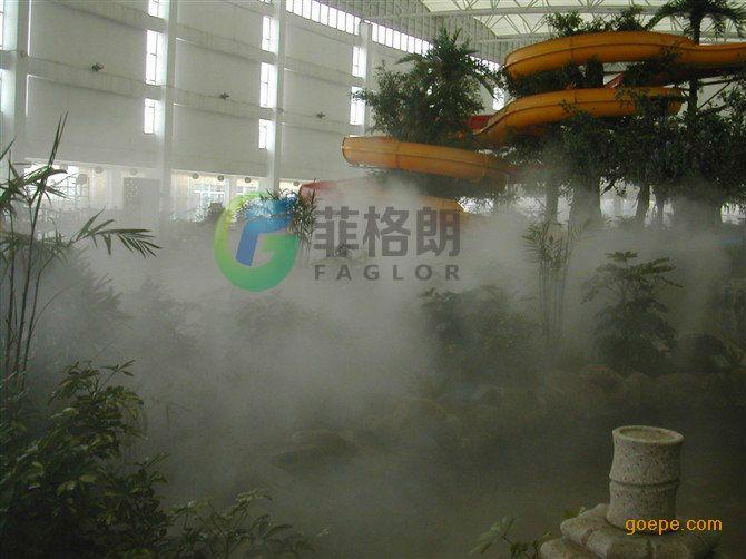 生态园林景观假山公园人造雾设备