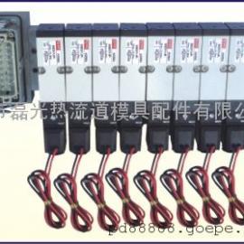 供应热流道电磁阀组,塑胶模具电磁阀组