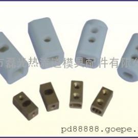 热流道单位陶瓷接线盒,流道板发热管陶瓷接线头