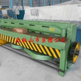 3*2500机械剪板机厂家 1.5*2500脚踏剪板机价格