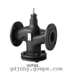 VVF43西门子电动蒸汽温控阀原装进口调节阀