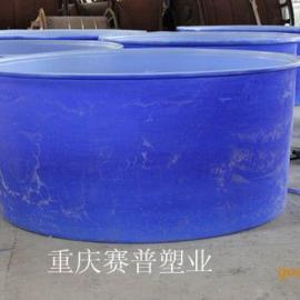 M-1500L塑料圆桶,1.5吨发酵塑料桶,榨菜圆桶