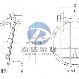 轴流泵、混流泵用各型出水拍门