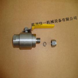QG.Y1气源球阀,卡套式气源球阀