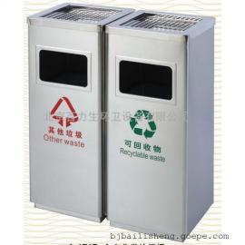 不锈钢分类垃圾桶 酒店垃圾桶 大堂垃圾桶 商场垃圾桶