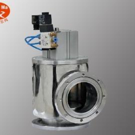 GDQ-J气动高真空挡板阀,不锈钢气动高真空挡板阀