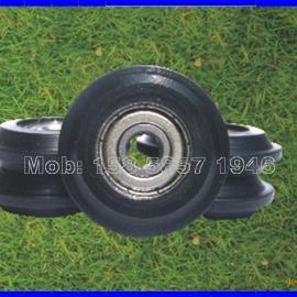 【HN-525Y】外径25mm日本宝理包塑滑轮