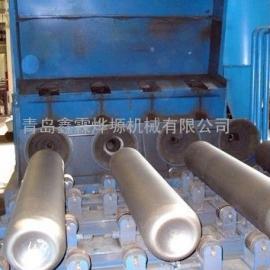 除锈专家喷砂机-乙炔气瓶内壁喷丸清理机厂家。