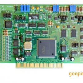 供应中泰PCI-8333多功能模入模出数据采集卡