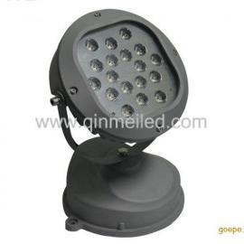 供应18W6000K纯白光LED投光灯/可调光的LED投射灯