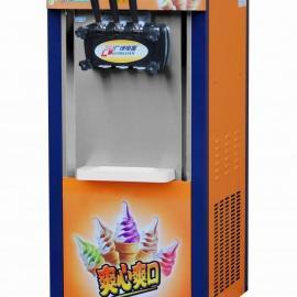 豫隆恒冰淇淋机商用软冰激凌机器全自动雪糕机不锈钢立式甜筒机