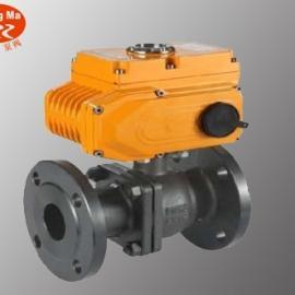 Q941F电动法兰球阀,铸钢电动球阀,不锈钢电动球阀