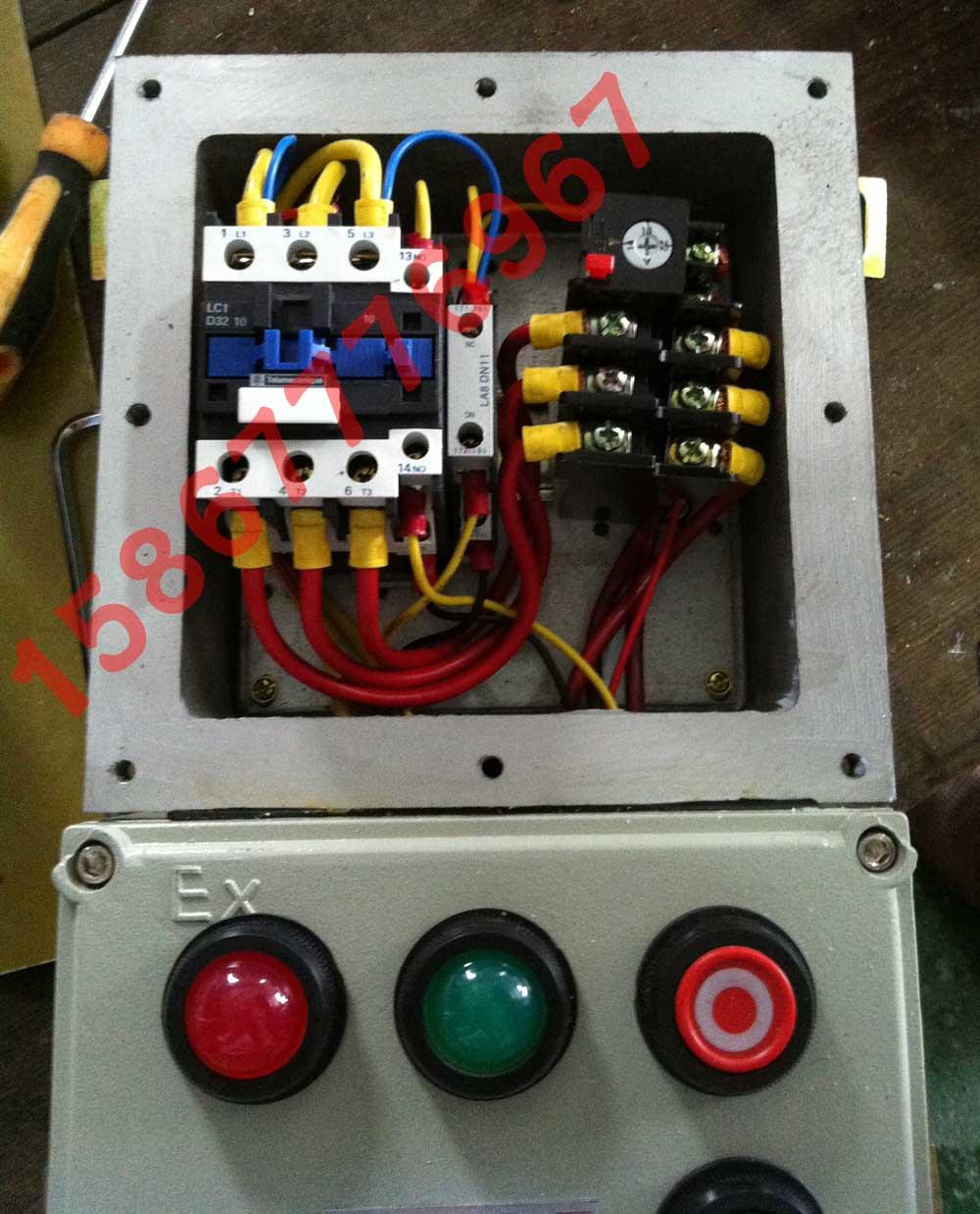 电磁起动器内部接线图 磁力启动器 厂用防
