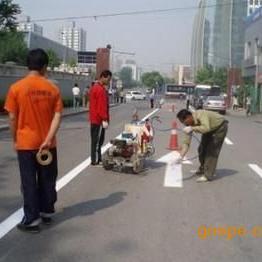 重庆奉节云阳忠县道路热熔划线