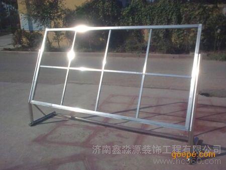供应潍坊不锈钢宣传栏 广告牌 价格 - 谷瀑环保