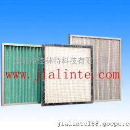 超低价格初效高粘度纸框G4绿白棉过滤器单面护网