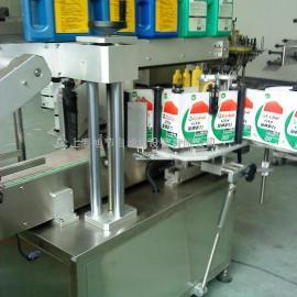 吉林润滑厂专用贴标机设备 双面贴标机
