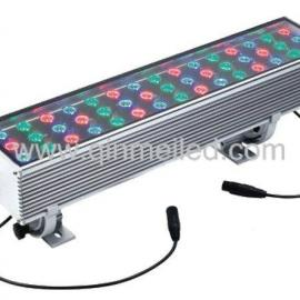 供应72W外控RGB投光灯/支持DMX512协议的投光灯
