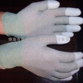 批发PU涂指手套|指尖涂层手套|防静电涂层手套