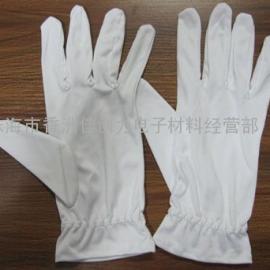 供应白色无尘布手套|超细纤维无尘布手套