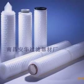 美国折叠式PES膜过滤芯  进口折叠滤芯 折叠过滤芯