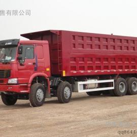 中国重汽豪沃前四后八8米自卸车