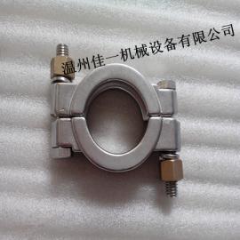 不锈钢高压卡箍生产厂家,高压管箍现货