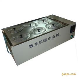 �p列六孔水浴�/HHS-6S/不�P�精密水浴�