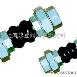 螺纹连接橡胶软接头,橡胶补偿器