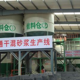 年产30万吨预拌砂浆生产设备-振兴粉体公司