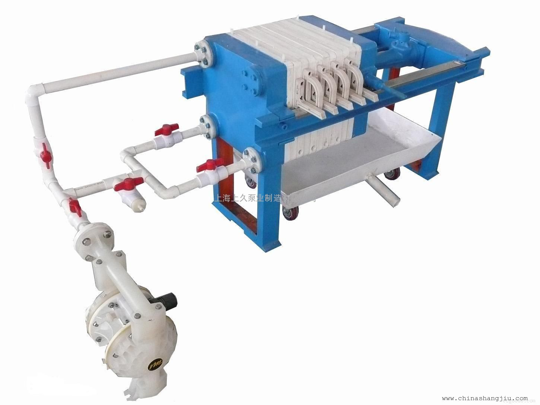 QBY-B系列气动隔膜泵 压滤机配套隔膜泵